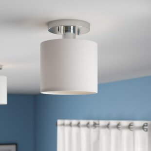 Malani 1-Light Semi Flush Mount by Orren Ellis