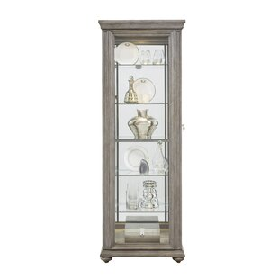 Tiano Lighted Curio Cabinet