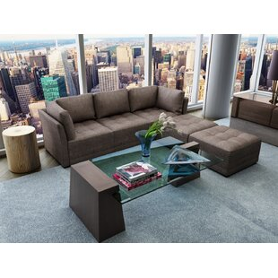 Frampton Reversible Modular with Ottoman