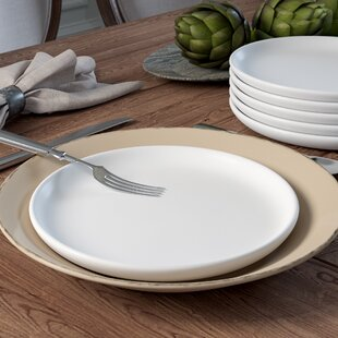 Lyndell Matte Craft Coupe Melamine Salad Plate (Set of 6) (Set of 6)