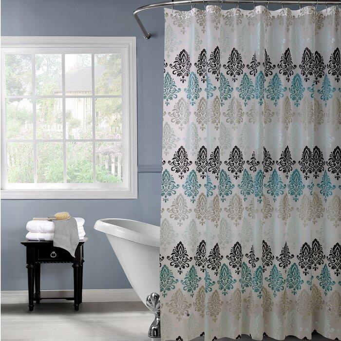 Chandelier Design PEVA Shower Curtain