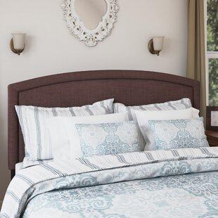 Blueridge Upholstered Panel Headboard by Charlton Home