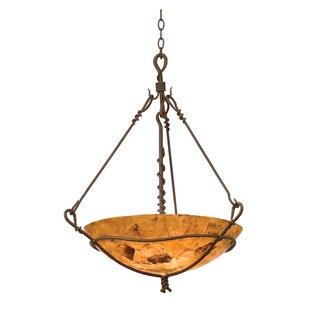 Vine 3-Light Bowl Pendant by Kalco