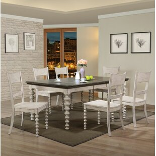 Bustillos 7 Piece Drop Leaf Dining Set