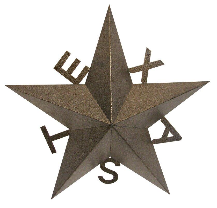 Texas Star Wall Decor leighcountry texas star wall décor & reviews | wayfair