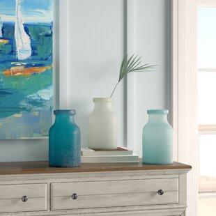 Zaleski Glade Glass Table Vase (Set of 3)