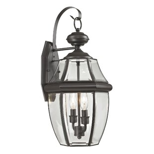 Best Price Ashford 2-Light Outdoor Wall Lantern By Cornerstone Lighting