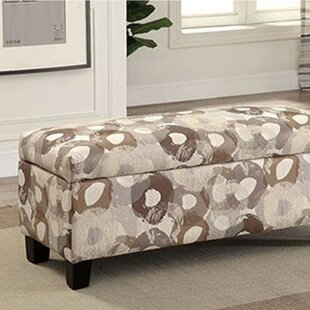 Latitude Run Risinger Upholstered Storage Bench