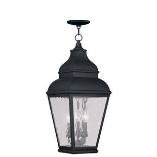 Darby Home Co Southport 3-Light Outdoor Hanging Lantern