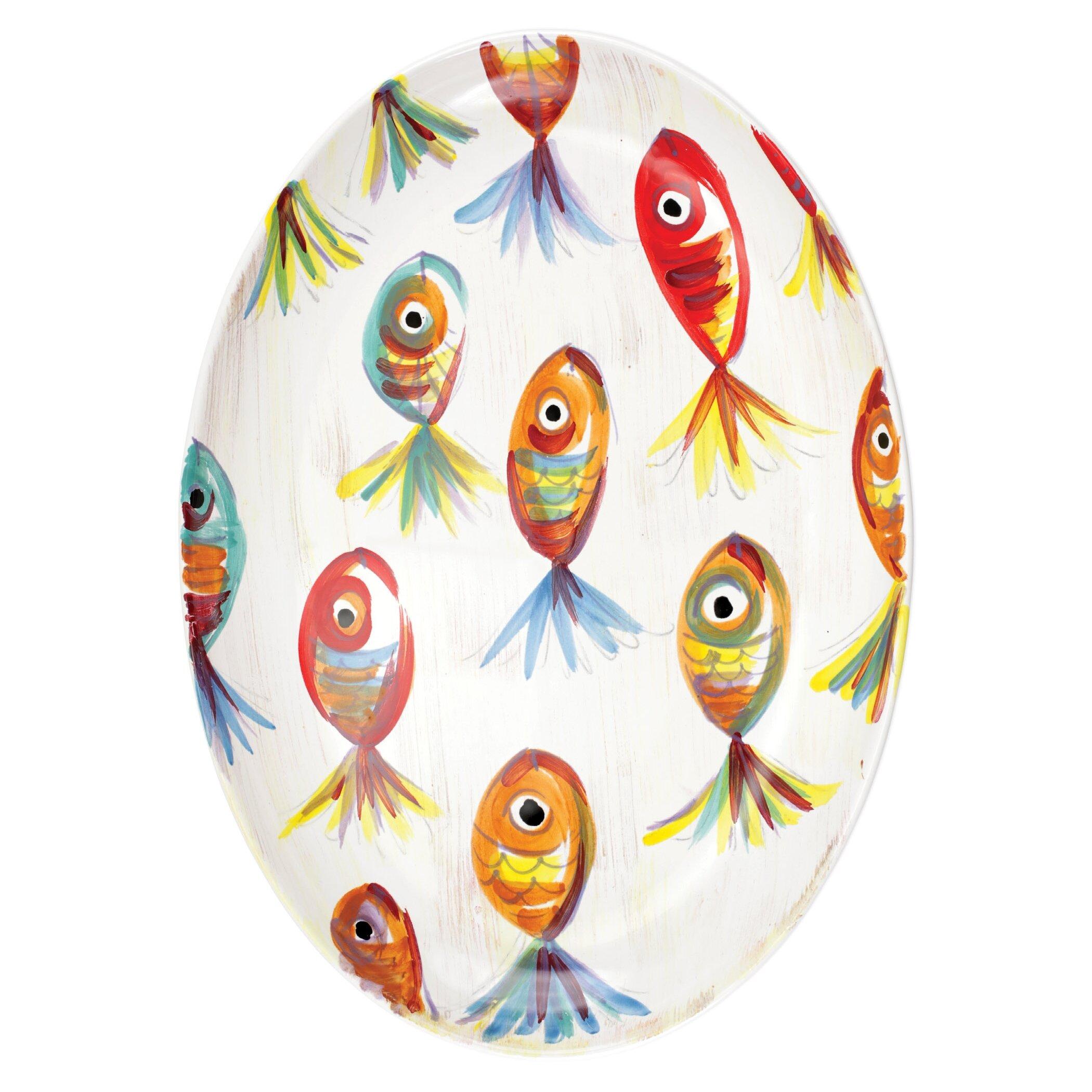 Vietri Pesci Colorati Platter Wayfair