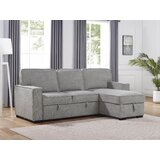 Billy-John 92 Chenille Reversible Sleeper Sofa & Chaise by Latitude Run®