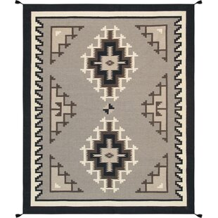 Price comparison Kilim Hand-Woven Wool Brown/Black Area Rug By Pasargad
