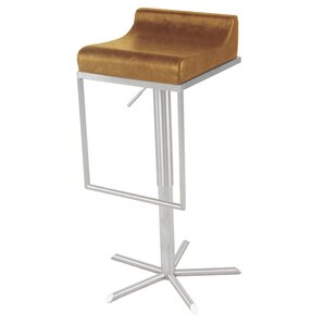 Zac Adjustable Height Bar Stool by New Pa..