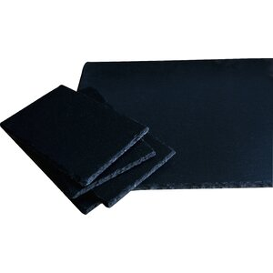 5 Piece Slate Cheeseboard Set