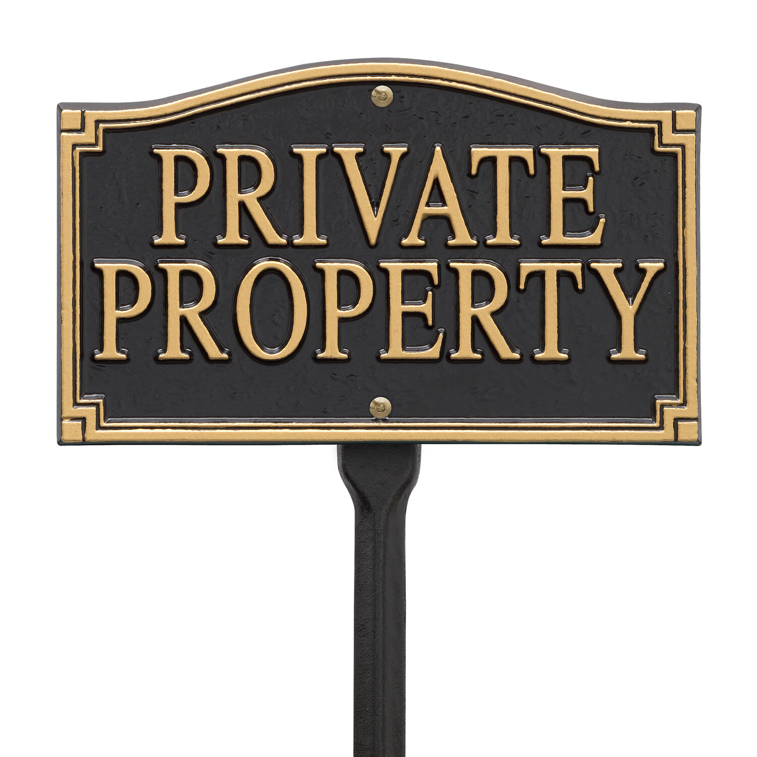 Whitehall Products Private Property Statement Garden Sign Reviews Wayfair