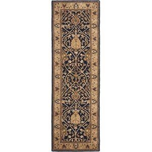 Empress Black/Gold Area Rug