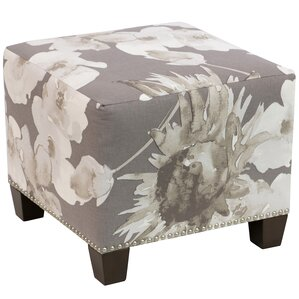 Zanuck Square Nail Button Ottoman by House of Hampton