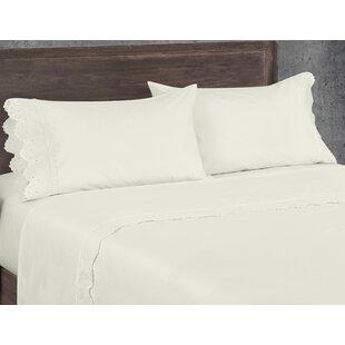 Aurillac West Coast 200 Thread Count 100% Cotton Sheet Set