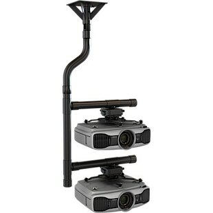 Stacked Projector Universal Ceiling Mount by Crimson AV Read Reviews