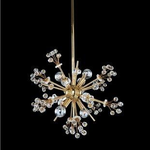 Allegri by Kalco Lighting Constellation 6-Light Sputnik Chandelier