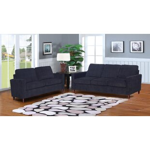 Amall 2 Piece Living Room Set by Ebern Designs