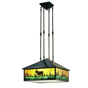 Moose Creek 3-Light Pendant by Meyda Tiffany
