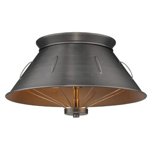 Williston Forge Didomenico 2-Light Flush Mount