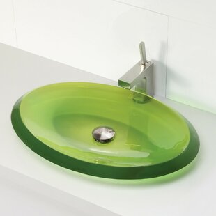 Incandescence Oval Vessel Bathroom Sink DECOLAV