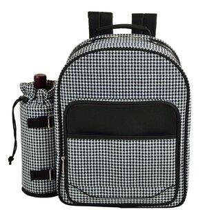 Houndstooth Backpack Picnic Cooler