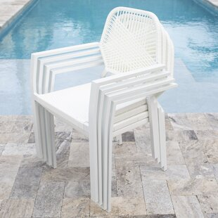 Hollander Commercial Grade Stacking Patio Dining Chair by Ebern Designs