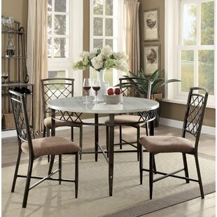 Glines 5 Piece Dining Set Astoria Grand