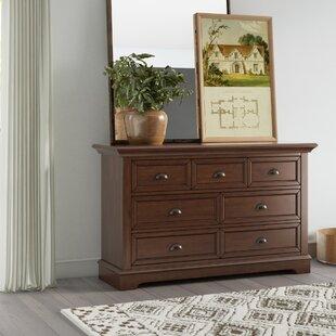 Greyleigh Appleby 7 Drawer Contemporary Wood Youth Dresser