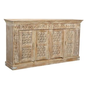 Aveliss Brown Solid wood Sideboard by Bungalow Rose
