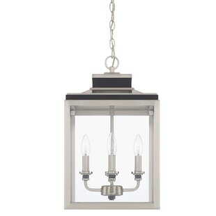 Mahan 4-Light Square/Rectangle Pendant by Mercer41