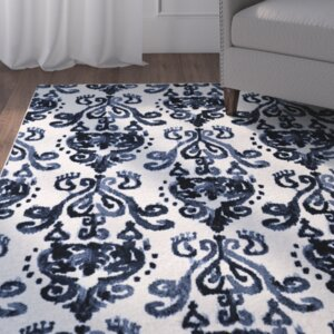 Leonard Blue/Cream Area Rug