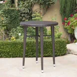 Hartwick Wicker Bar Table