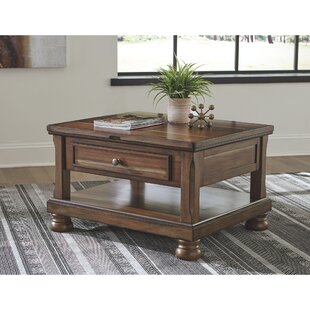 Sebago Lift Top Coffee Table With Storage By Charlton Home