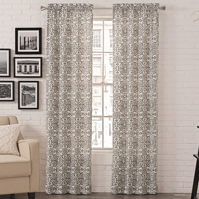 Coral Bedroom Curtains | Wayfair