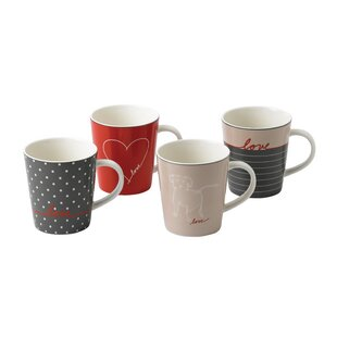 Signature 4 Piece Coffee Mug Set