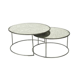 Emmanuell 2 Piece Coffee Table Set (Set Of 2) By Ebern Designs