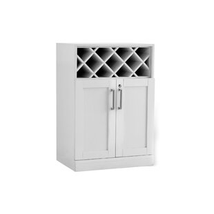 NewAge Products Bottle Bar Cabinet with Wine Storage