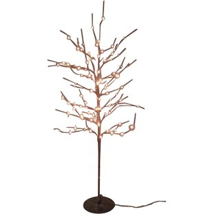 Hi-Line Gift Ltd. Floral 112 Light Rice Tree