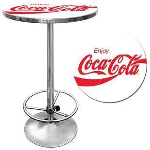 Enjoy Coke Pub Table Trademark Global