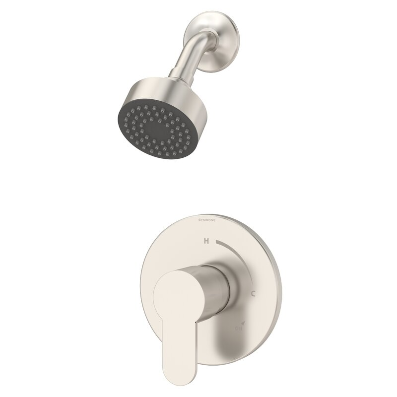 Symmons Identity Pressure Balance Shower Faucet With Metal Lever Handle Wayfair