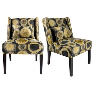Winston Porter Hulings Upholstered Slipper Chair