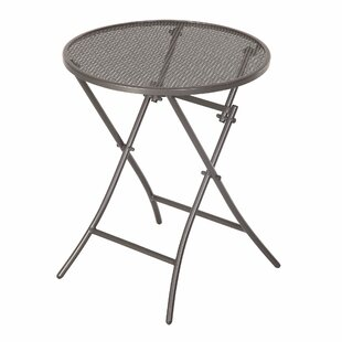 Coaling Folding Metal Side Table By Sol 72 Outdoor