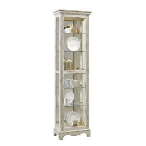 Davie Weathered Standard Curio Cabinet