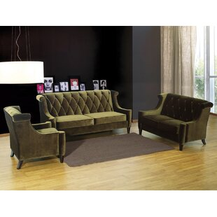 Willa Arlo Interiors Carressa Configurable Living Room Set