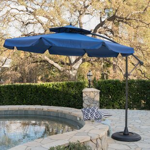 Darby Home Co Simplot Outdoor Sunshade 9.5' Cantilever Umbrella