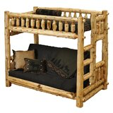 Lytle Twin Futon Bunk Bed by Loon Peak®